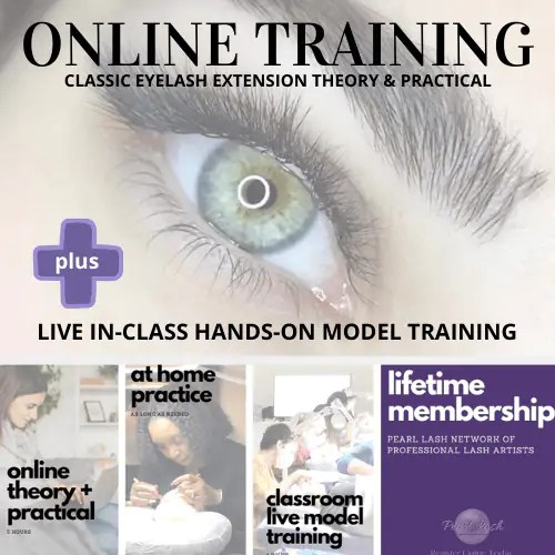 Online Eyelash Extension Training