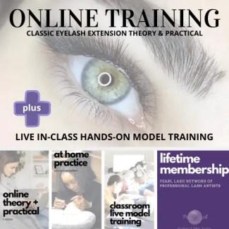 Online Eyelash Extension Training