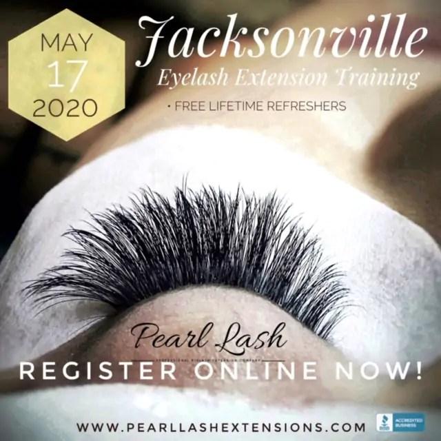 Classic Eyelash Extension Training Pearl Lash Jacksonville