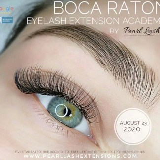 Eyelash Extension Classic Training by Pearl Lash Boca Raton