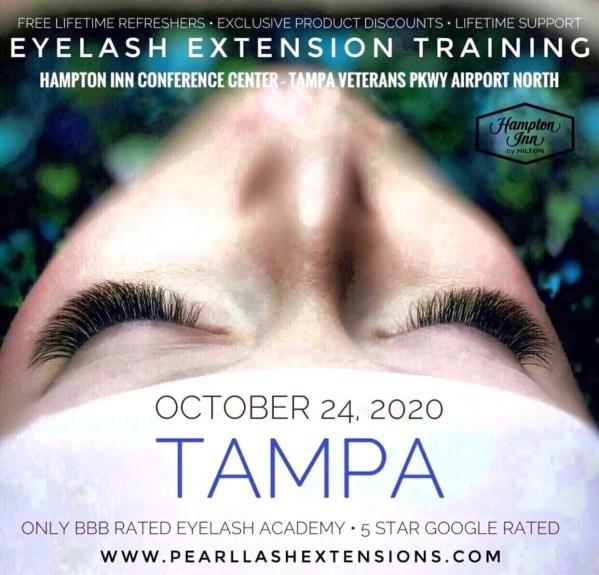 Eyelash Extension Classic Training by Pearl Lash Tampa