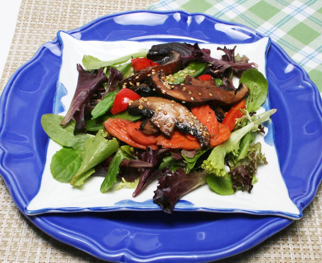 Stir Fry Portobello Salad