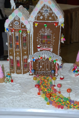 Davio's Chestnut Hill - This was one of my family's favourite when it came to taste and decorations. (Each contestant makes a tasting treat - usually a cookie to go with their houses.)