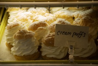 Wright's farm's famous cream puffs.
