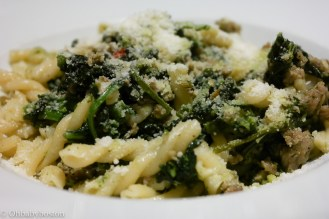 Artú makes some of their pasta in house such as the spaghetti and lasagna. This fusilli with Italian sausage, broccoli rabe pesto and Pecorino Romano cheese was delicious. The proportions of greens to pasta and sausage was just the way I like it.