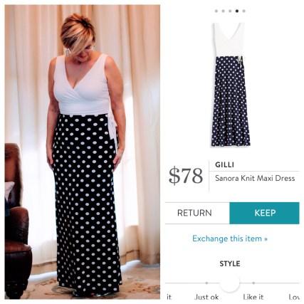 Stitch Fix Gilli Sanora Knit Maxi Dress