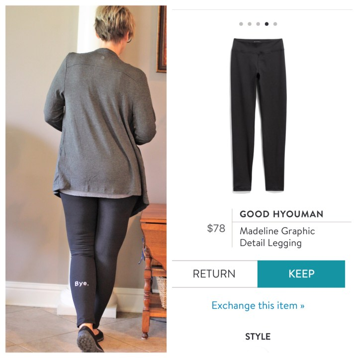 Good Hyouman Madeline Graphic Detail Legging