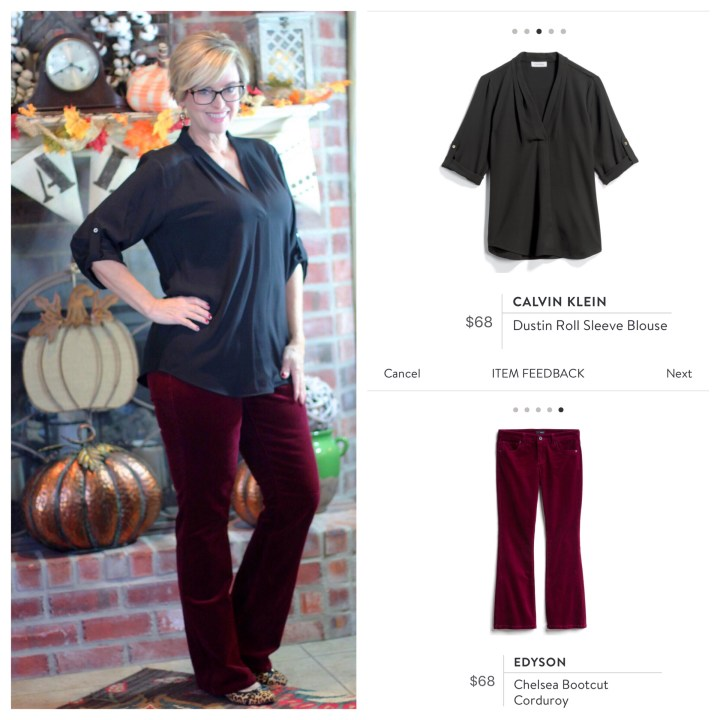 Calvin Klein Top and Bootcut Pants from Stitch Fix