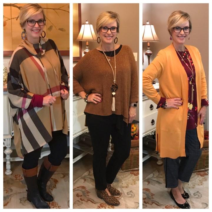Fall yellow sweaters