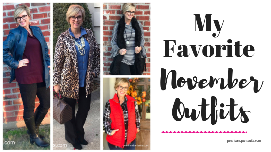 My Favorite November Outfits