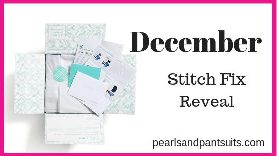 December Stitch Fix Reveal