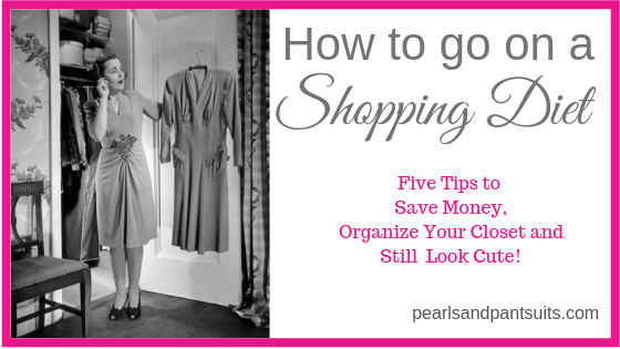 How to Go On a Shopping Diet!