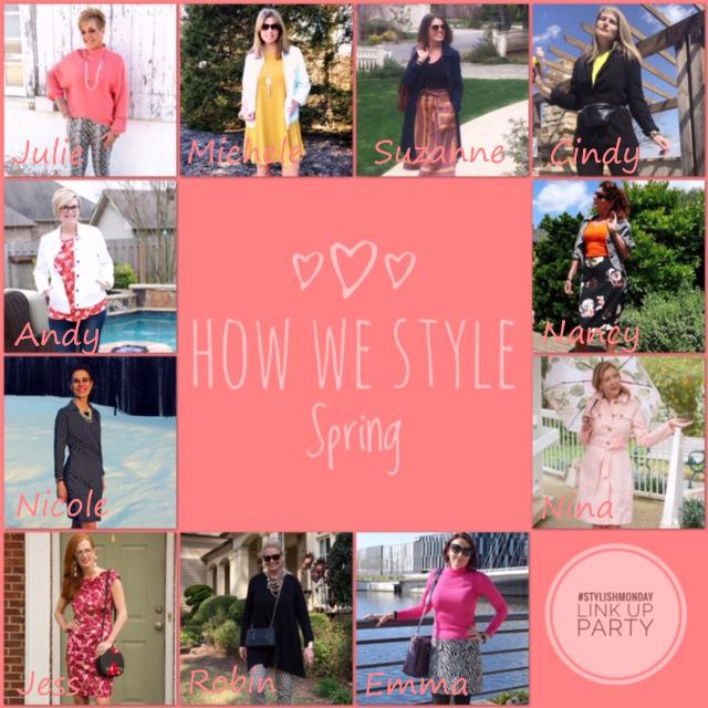 April Link Up Collage