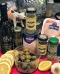 Lemon Chicken w/ Garlic & Olives