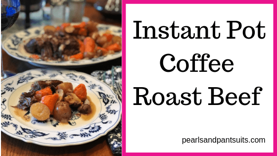Instant Pot Beef Roast with Coffee