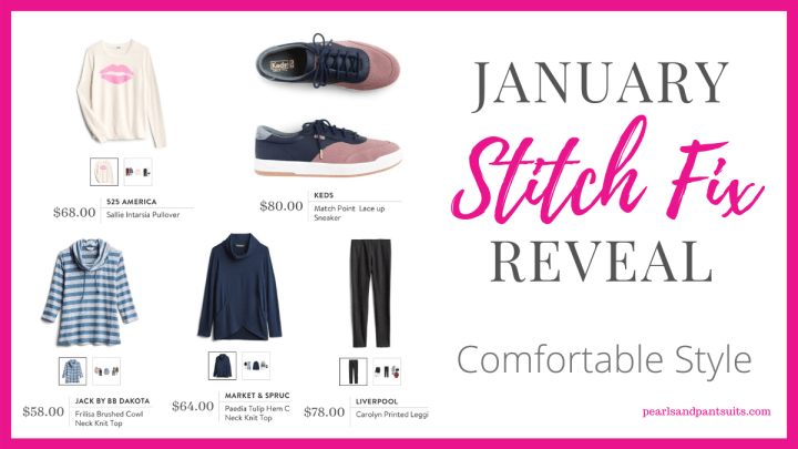 January Stitch Fix Reveal | Comfortable Style