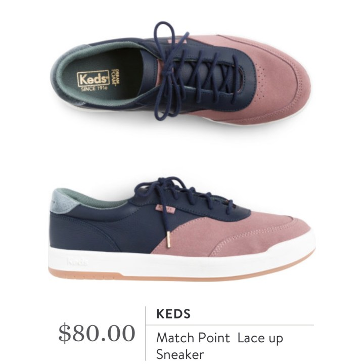 Keds Match Point Lace Up Sneaker