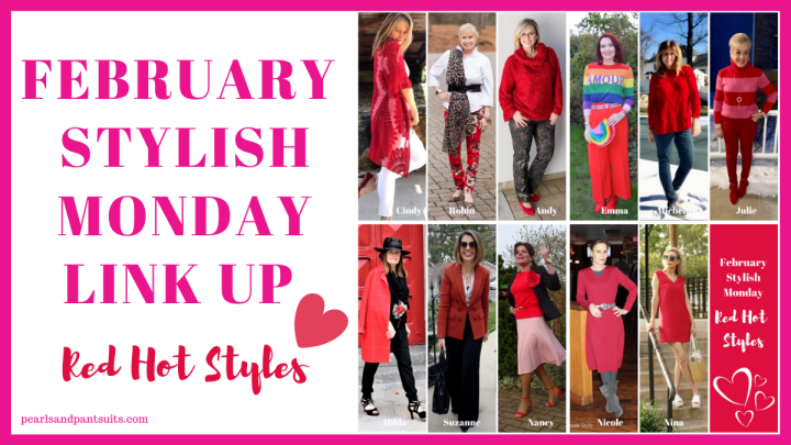 Red Hot Styles | February Stylish Monday Link-Up