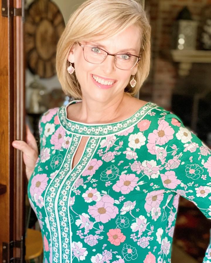 Stitch Fix Floral Dress