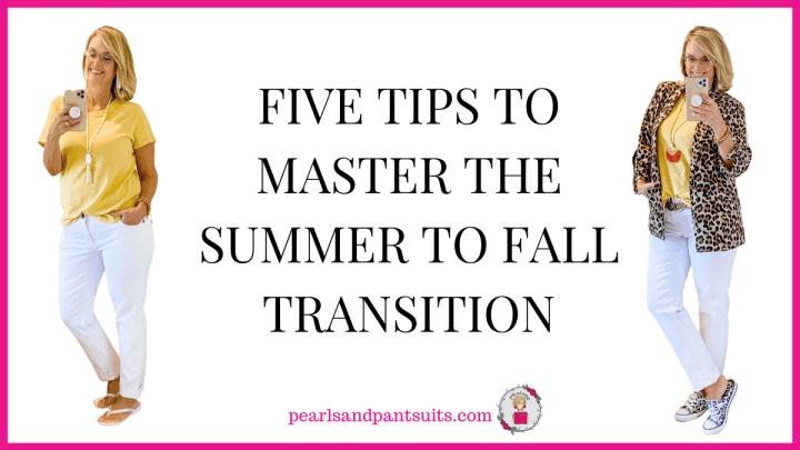 Five Tips to Master the Summer to Fall Transition