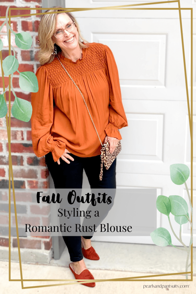 Rust Blouse from Target