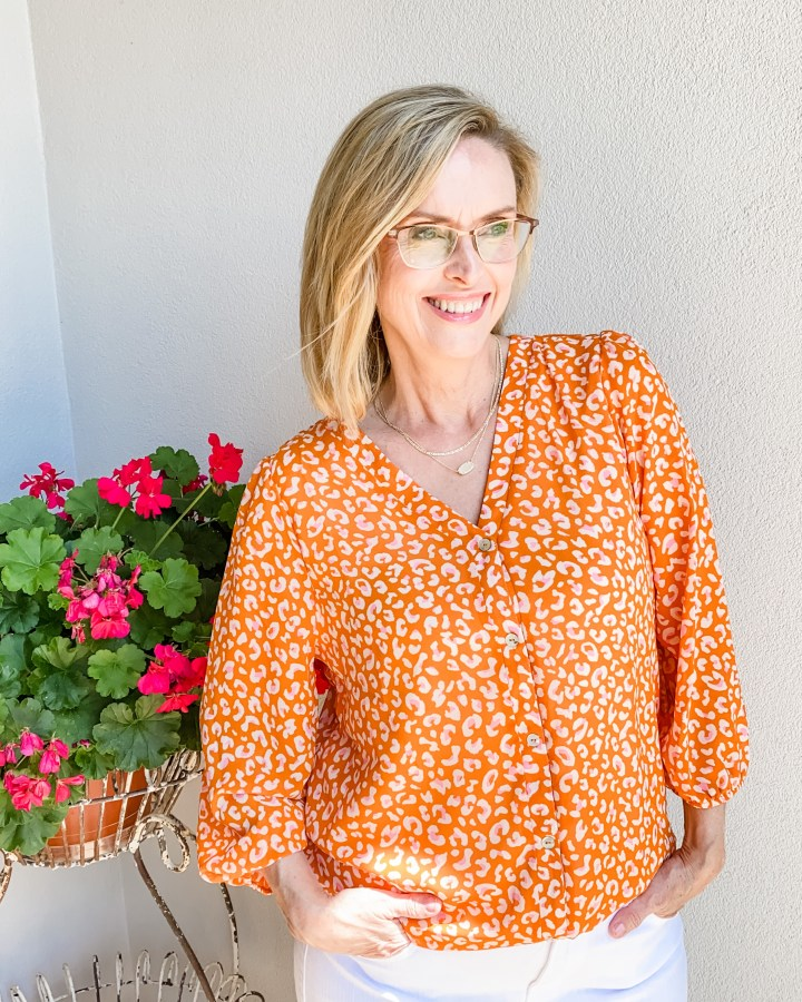 May Stitch Fix Reveal West Kei Coleton blouse