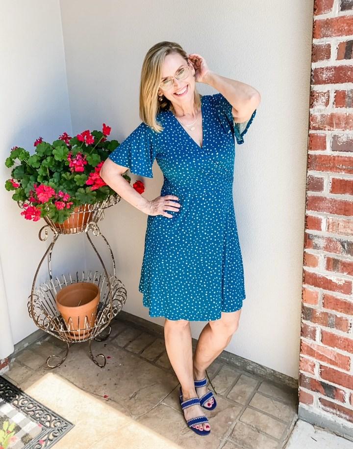 41 Hawthorn Elisse Knit Surplice Dress