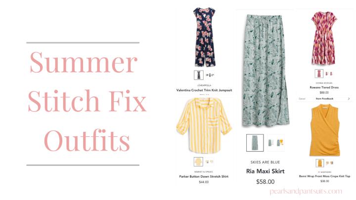 Summer Stitch Fix Outfits