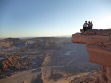 Hanging out on Coyote Rock, aptly named for it's similarity to the scene from the road runner cartoon.