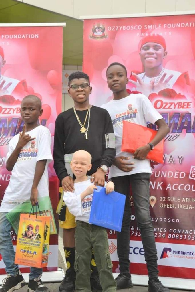 """Nigeria's Most Celebrated Youngstar, OzzyBee launches """"OZZYBEE's YOUNG SAVERS SCHEME"""" (OYSS)"""