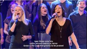 Israeli youth choir loves the Messiah!