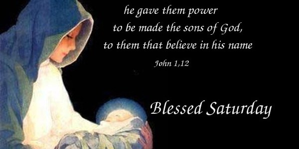 Blessed are sons of God