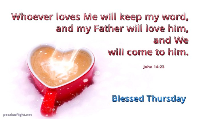 Whoever loves Me… (BL)