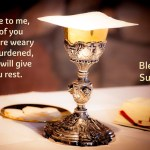 Come to me, all of you who are weary and burdened…