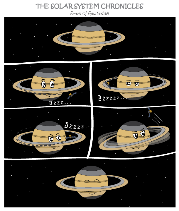 The Solar System Chronicles - Saturn's Nap