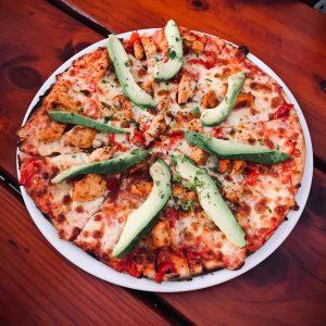Bacon & Avo Pizza