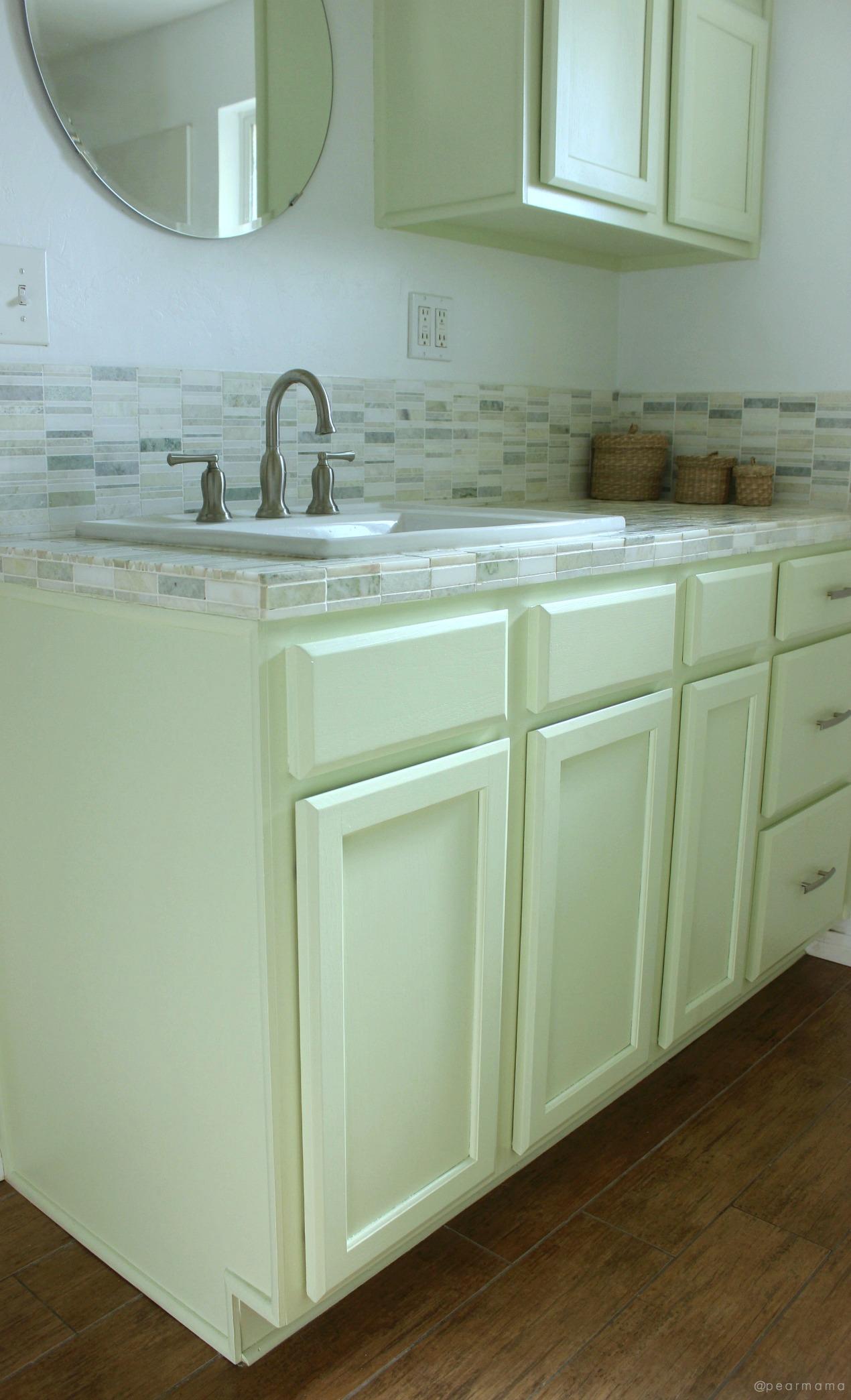 http pearmama com 2018 02 bathroom diy non traditional green marble tile
