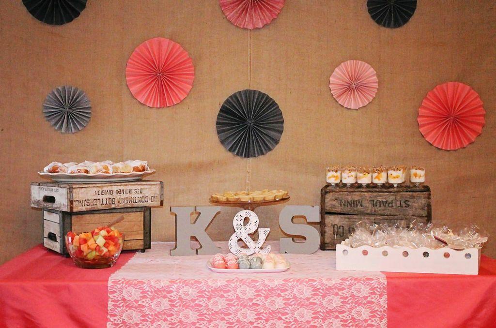 Rustic + Elegant Bridal Shower Ideas