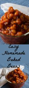 Easy to make Baked Beans smothered in a sweet bacon sauce.