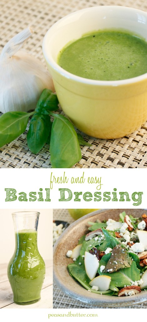 Basil Dressing Pinterest