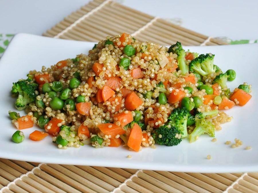 Vegetarian Quinoa Fried Rice Recipe