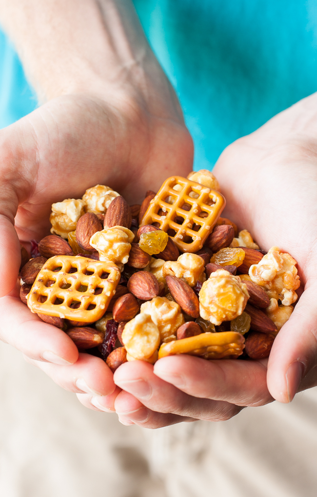 Sweet and Salty Homemade Trail Mix