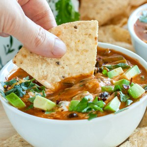 Fall in love with your leftovers with this Shortcut Taco Soup!