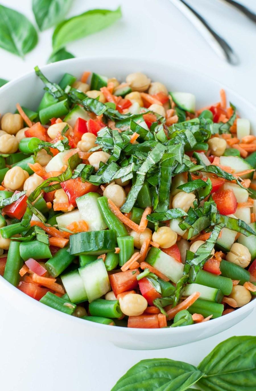 Healthy Chickpea Salad Recipe