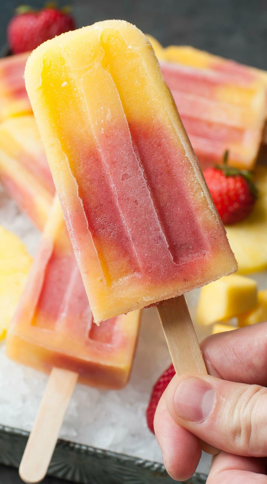Tropical Fruit Pops