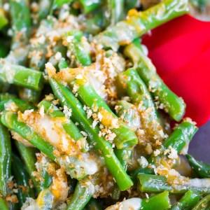 Cheesy Green Beans Recipe