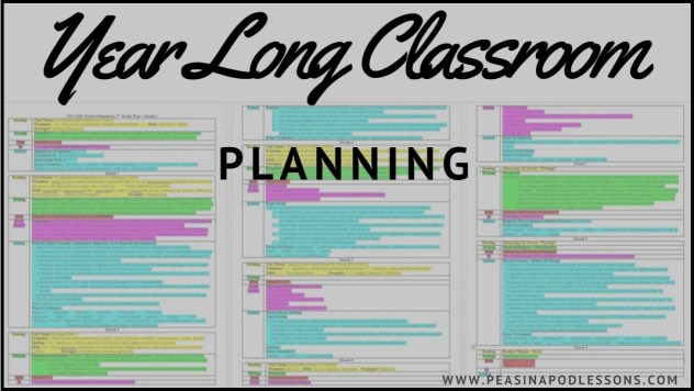year long classroom planning