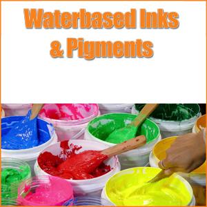 Waterbased Inks & Pigments