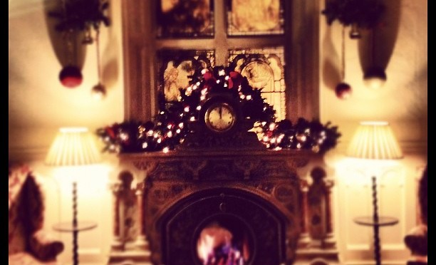 What time is it? #clock #christmas #christmasparty #elvetham #hotel