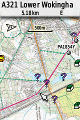 UK Topographic Mapping for a Garmin GPS